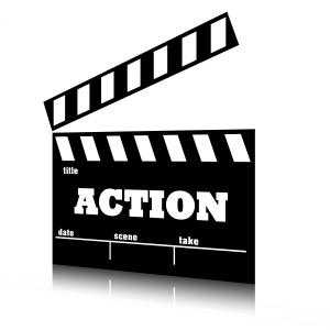 Cine de acción. Serie géneros cinematográficos.